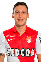 Lucas OCAMPOS - 29.08.2014 - Photo officielle Monaco - Ligue 1 2014/2015<br /> Photo : Stephane Senaux / AS Monaco / Icon Sport
