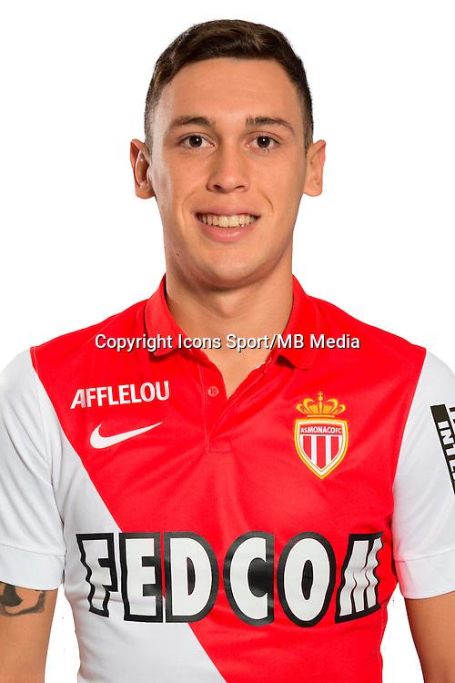 Lucas OCAMPOS - 29.08.2014 - Photo officielle Monaco - Ligue 1 2014/2015<br /> Photo : Stephane Senaux / AS Monaco / Icon Sport