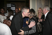 Giles Deacon and Hilary Alexander Westfield Launch and BFC celebrate Fashion Forward. Home House, Portman Sq. London. 30 January 2007.  -DO NOT ARCHIVE-© Copyright Photograph by Dafydd Jones. 248 Clapham Rd. London SW9 0PZ. Tel 0207 820 0771. www.dafjones.com.
