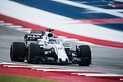 October 19-22, 2017: United States Grand Prix. Felipe Massa (BRA), Williams Martini Racing , FW40