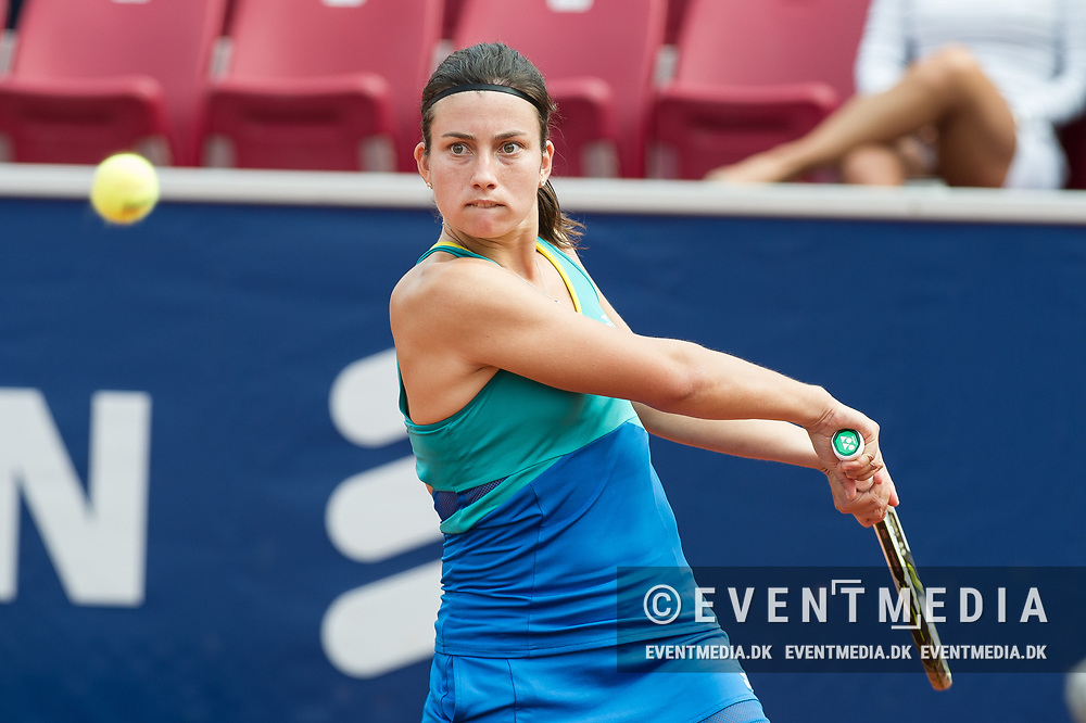 Anastasija Sevastova (Latvia) at the 2017 WTA Ericsson Open in Båstad, Sweden, July 26, 2017. Photo Credit: Katja Boll/EVENTMEDIA.