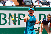 Simona Halep (rou) during the Roland Garros French Tennis Open 2018, day 12, on June 7, 2018, at the Roland Garros Stadium in Paris, France - Photo Pierre Charlier / ProSportsImages / DPPI