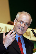 Aidan White, IFJ General Secretary, speaking  at the NUJ Conference 2005.