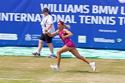 LIVERPOOL, ENGLAND - Saturday, June 23, 2018: Alexandra Cadantu (ROU) during day three of the Williams BMW Liverpool International Tennis Tournament 2018 at Aigburth Cricket Club. (Pic by Paul Greenwood/Propaganda)
