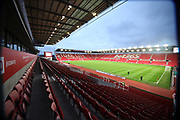 Stadium during the Premier League match between Stoke City and Manchester City at the Bet365 Stadium, Stoke-on-Trent, England on 12 March 2018. Picture by Graham Holt.