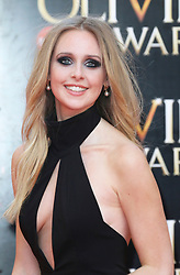 © Licensed to London News Pictures. 13/04/2014, UK. Diana Vickers, The Laurence Olivier Awards, Royal Opera House, London UK, 13 April 2014. Photo credit : Richard Goldschmidt/Piqtured/LNP