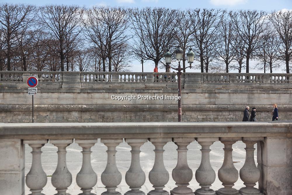 France, Paris, 1st district. Tuileries garden/ jardin des tuileries
