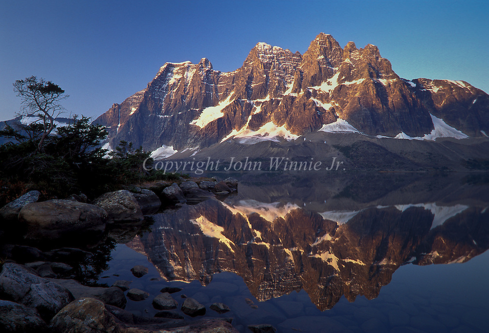The Ramparts. Tonquin Valley. Jasper National Park, Canada.