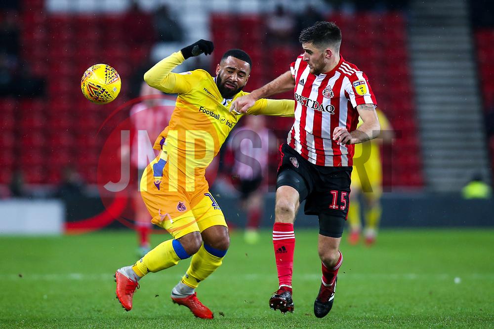 Alex Jakubiak of Bristol Rovers takes on Jack Baldwin of Sunderland - Mandatory by-line: Robbie Stephenson/JMP - 15/12/2018 - FOOTBALL - Stadium of Light - Sunderland, England - Sunderland v Bristol Rovers - Sky Bet League One