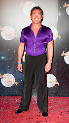 Sid Owen joins fellow Contestants as they line up for this years Strictly Come Dancing television show on BBC. Contestants will include Olympic medalist Victoria Pendleton, Tuesday September 11, 2012.Photo Andrew Parsons/i-Images