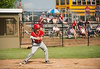 Laconia Baseball versus Fall Mountain first round tournament Division III NHIAA varsity baseball.  Karen Bobotas/for the Laconia Daily Sun