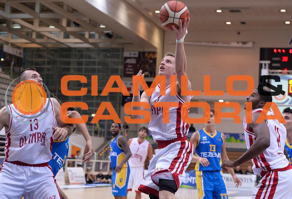 DESCRIZIONE : Trento Lega A 2015-2016 Memorial Brusinelli EA7 Olimpia Milano Tezenis Verona<br /> GIOCATORE : Andrea Amato<br /> SQUADRA : EA7 Olimpia Milano<br /> EVENTO : Campionato Lega A 2014-2015 Precampionato<br /> GARA : EA7 Olimpia Milano Tezenis Verona provvisorio<br /> DATA : 19/09/2015<br /> CATEGORIA : tiro<br /> SPORT : Pallacanestro<br /> AUTORE : Agenzia Ciamillo-Castoria/R.Morgano<br /> GALLERIA : Lega Basket A 2015-2016<br /> FOTONOTIZIA : Trento Lega A 2015-2016 Memorial Brusinelli EA7 Olimpia Milano Tezenis Verona Precampionato<br /> PREDEFINITA :