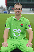 Joe Mennie during the Lancashire County Cricket Club Media Day at the Emirates, Old Trafford, Manchester, United Kingdom on 11 April 2018. Picture by George Franks.