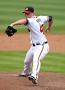 ATLANTA, GA - SEPTEMBER 6:  Craig Kimbrel #46 of the Atlanta Braves pitches during the game against the Colorado Rockies on Thursday, September 6, 2012 at Turner Field in Atlanta, Georgia. (Photo by Mike Zarrilli/MLB Photos via Getty Images) *** Local Caption *** Craig Kimbrel