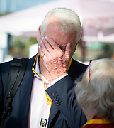 Lord Paddy Ashdown arrives at the Liberal Democrats Autumn Conference in Brighton, East Sussex 15th September 2018 <br /> <br /> Paddy Ashdown <br /> <br /> Photograph by Elliott Franks