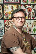 Jason McDonald of Electric Hand Tattoo
