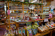 Linn's Original Farm Store, known for fresh berry Jellies and pies, near Cambria, California