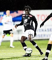 Fotball , 3. november 2013 , Eliteserien , Tippeligaen , Hønefoss - Sogndal 3-1<br /> Sidy Sagna , Sogndal
