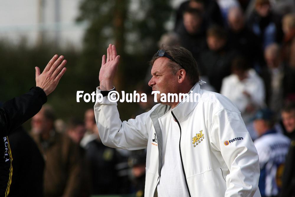 07.06.2009, Kouvola..Superpesis 2009.Kouvolan Pallonly?j?t - Vimpelin Veto.KPL:n puheenjohtaja Aslak Kaikko.©Juha Tamminen.