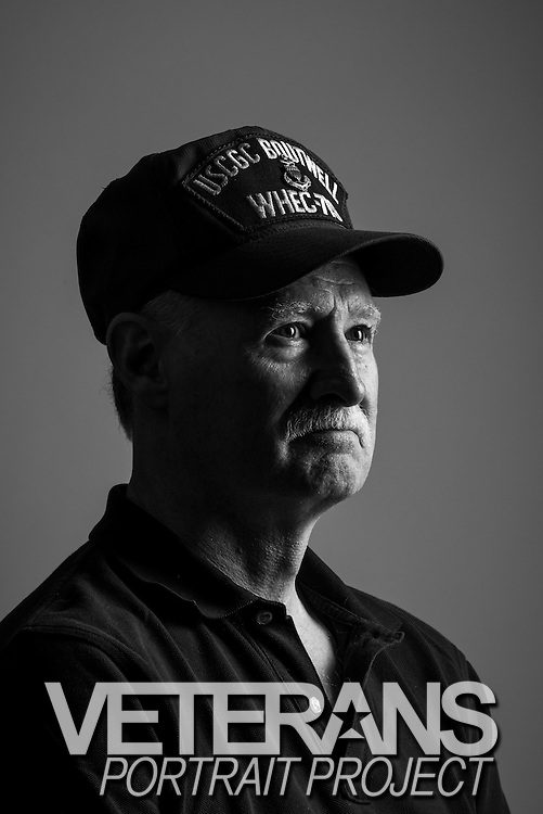 Michael Russell<br /> Coast Guard<br /> E-8<br /> Corpsman<br /> Panama, Haiti, DSI<br /> Jan. 25, 1975 - Oct. 31, 1998<br /> <br /> Veterans Portrait Project<br /> Philadelphia, PA