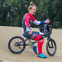 30-08-2020: Wielrennen: BMX - Road to Tokyo & WK 2021: Papendal<br /> <br />Laura Smulders