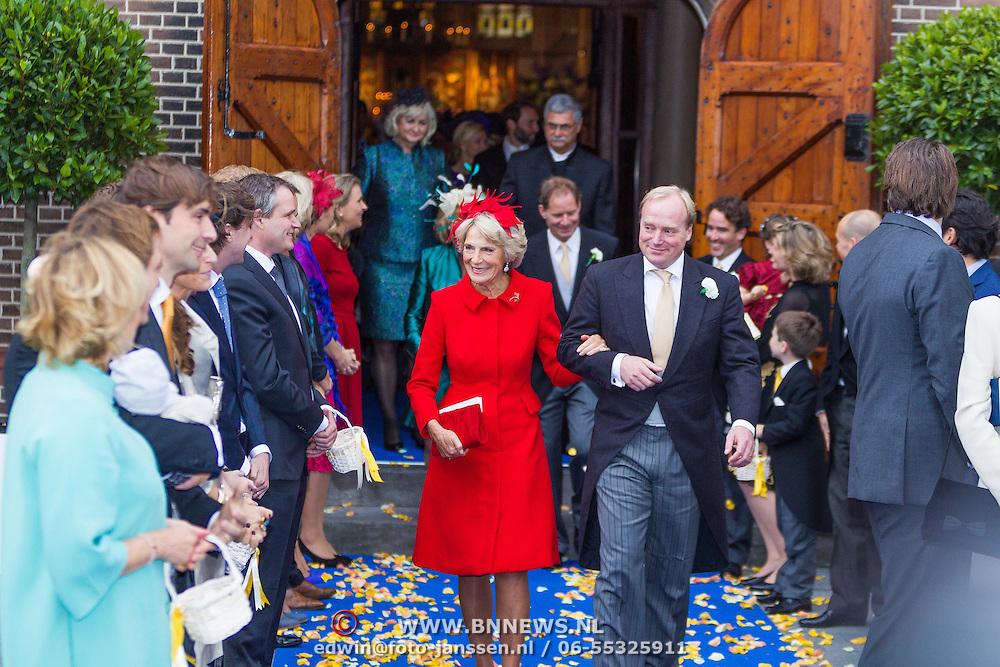 NLD/Apeldoorn/20130105 - Huwelijk prins Jaime en prinses Viktoria Cservenyak, prinses Irene en prins Jaime