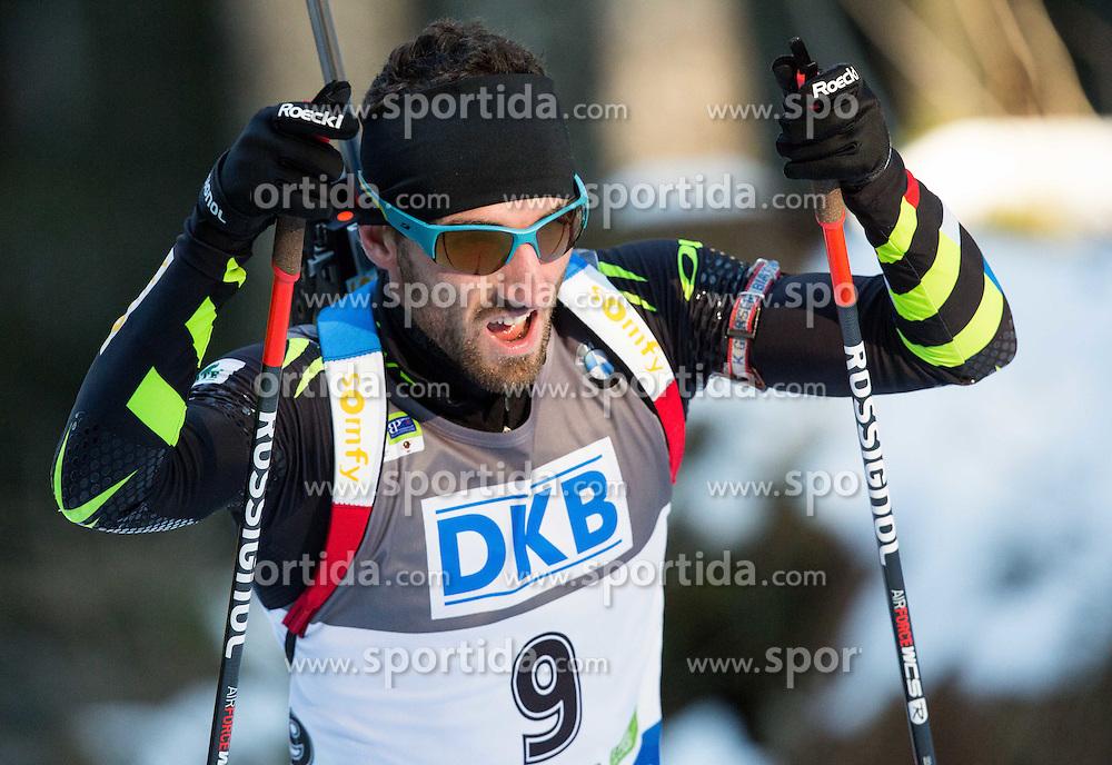 BEATRIX Jean Guillaume (FRA) competes during Men 10 km Sprint at day 2 of IBU Biathlon World Cup 2014/2015 Pokljuka, on December 19, 2014 in Rudno polje, Pokljuka, Slovenia. Photo by Vid Ponikvar / Sportida