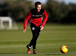 Josh Brownhill of Bristol City takes part in training - Mandatory by-line: Robbie Stephenson/JMP - 19/01/2017 - FOOTBALL - Bristol City Training Ground - Bristol, England - Bristol City Training