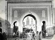 Fes El Bali Morocco early 1900s