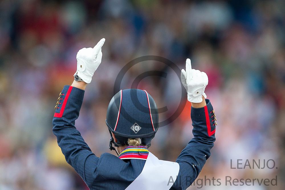 Charlotte Dujardin - Valegro winner Grand Prix Special<br /> FEI European Championships Aachen 2015<br /> &copy; DigiShots