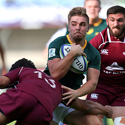 Zak Burger of South Africa during the U20 World Championship match between South Africa and Georgia on May 30, 2018 in Perpignan, France. (Photo by Manuel Blondeau/Icon Sport)