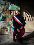 Portrait de Amin El Kahtmi dans le quartier de la Reine Jeanne a Avignon