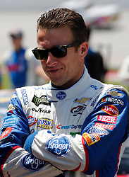 April 28, 2018 - Talladega, AL, U.S. - TALLADEGA, AL - APRIL 28:   A.J. Allmendinger, JTG Daugherty Racing, Chevrolet Camaro Kroger ClickList (47) during Qualifying for the 49th annual Geico 500 on Saturday April 28,2018 at Talladega Superspeedway in Talladega, Alabama (Photo by Jeff Robinson/Icon Sportswire) (Credit Image: © Jeff Robinson/Icon SMI via ZUMA Press)