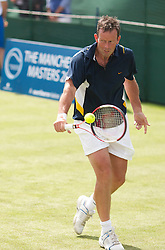 MANCHESTER, ENGLAND: Jeremy Bates (GBR) on Day 2 of the Manchester Masters Tennis Tournament at the Northern Tennis Club. (Pic by David Tickle/Propaganda)