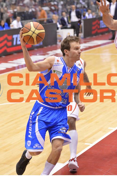 DESCRIZIONE : Milano Lega A 2012-13 EA7 Emporio Armani Milano Banco di Sardegna Sassari<br /> GIOCATORE : Diener Travis<br /> CATEGORIA : penetrazione<br /> SQUADRA : Banco di Sardegna Sassari<br /> EVENTO : Campionato Lega A 2012-2013 <br /> GARA :  EA7 Emporio Armani Milano Banco di Sardegna Sassari<br /> DATA : 02/12/2012<br /> SPORT : Pallacanestro <br /> AUTORE : Agenzia Ciamillo-Castoria/GiulioCiamillo<br /> Galleria : Lega Basket A 2012-2013  <br /> Fotonotizia : Milano Lega A 2012-13 EA7 Emporio Armani Milano Banco di Sardegna Sassari<br /> Predefinita :