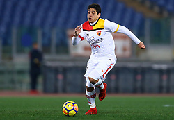 February 11, 2018 - Rome, Italy - Guilherme of Benevento during the serie A match between AS Roma and Benevento Calcio at Stadio Olimpico on February 11, 2018 in Rome, Italy. (Credit Image: © Matteo Ciambelli/NurPhoto via ZUMA Press)