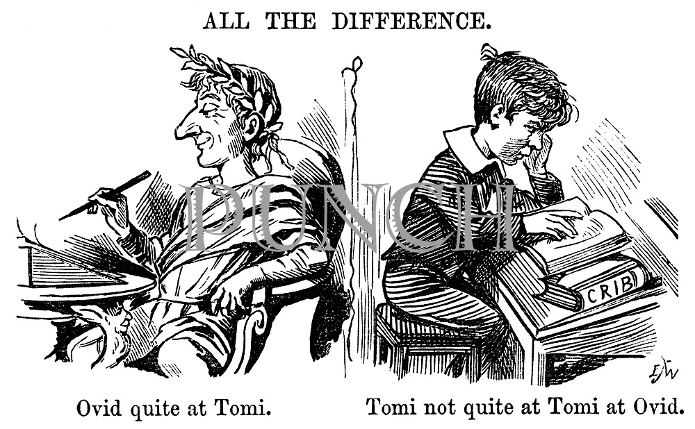 All the Difference. Ovid quite at Tomi. Tomi not quite at Tomi at Ovid.