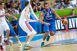04.09.2013, Arena Bonifka, Koper, SLO, Eurobasket EM 2013, Russland vs Italien, im Bild Marco Belinelli #10 of Italy // during Eurobasket EM 2013 match between Russia and Italy at Arena Bonifka in Koper, Slowenia on 2013/09/04. EXPA Pictures © 2013, PhotoCredit: EXPA/ Sportida/ Matic Klansek Velej<br /> <br /> ***** ATTENTION - OUT OF SLO *****