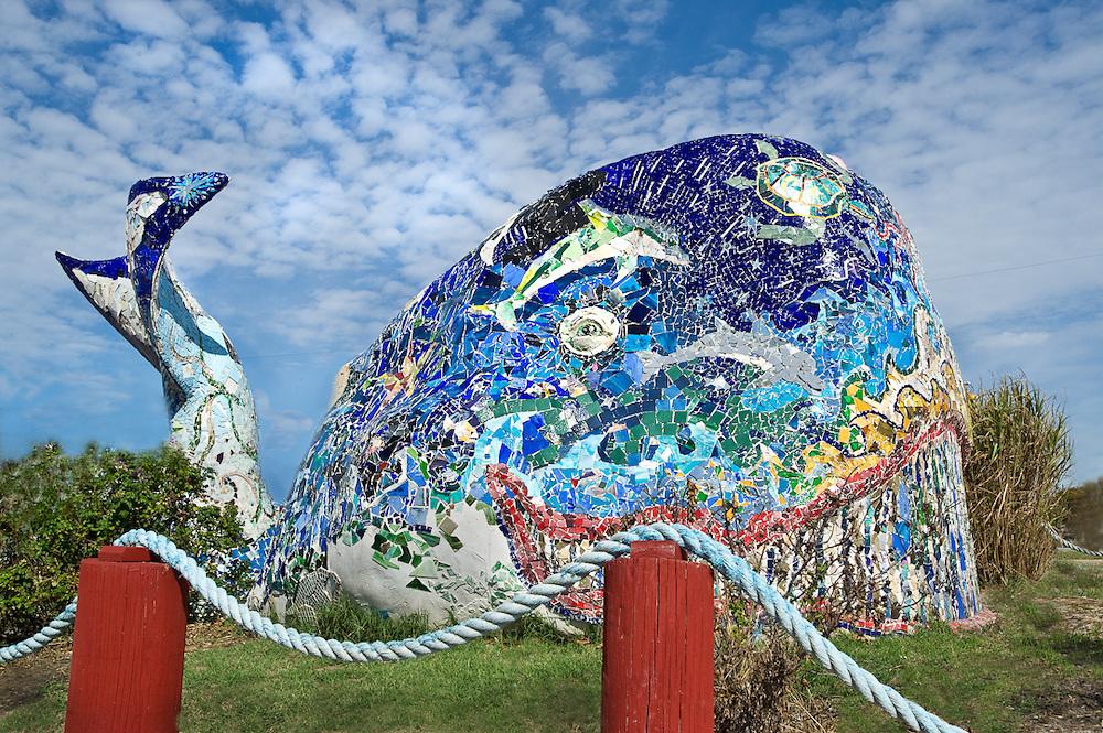 Rockaway Beach Mosaic Whale