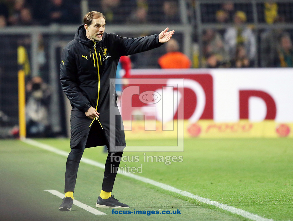 Thomas Tuchel, head coach of Borussia Dortmund during the Bundesliga match at Signal Iduna Park, Dortmund<br /> Picture by EXPA Pictures/Focus Images Ltd 07814482222<br /> 17/03/2017<br /> *** UK &amp; IRELAND ONLY ***<br /> EXPA-EIB-170317-0025.jpg