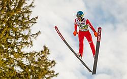 03.01.2014, Bergisel Schanze, Innsbruck, AUT, FIS Ski Sprung Weltcup, 62. Vierschanzentournee, Qualifikation, im Bild Jan Ziobro (POL) // Jan Ziobro (POL) during qualification Jump of 62nd Four Hills Tournament of FIS Ski Jumping World Cup at the Bergisel Schanze, <br /> Innsbruck, Austria on 2014/01/03. EXPA Pictures © 2014, PhotoCredit: EXPA/ JFK