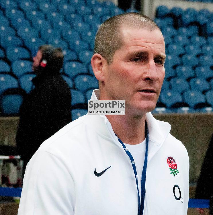 England Coach Stuart Lancaster,Scotland v England RBS 6 NATIONS, Murrayfield Stadium, Edinburgh