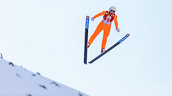 20.12.2015, Nordische Arena, Ramsau, AUT, FIS Weltcup Nordische Kombination, Skisprung, im Bild Lukas Klapfer (AUT) // Lukas Klapfer of Austria during Skijumping Qualification of FIS Nordic Combined World Cup, at the Nordic Arena in Ramsau, Austria on 2015/12/20. EXPA Pictures © 2015, PhotoCredit: EXPA/ JFK