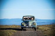 28/12/16 - GERGOVIE - PUY DE DOME - FRANCE - Essais Renault 4CV decouvrable de 1954 - Photo Jerome CHABANNE