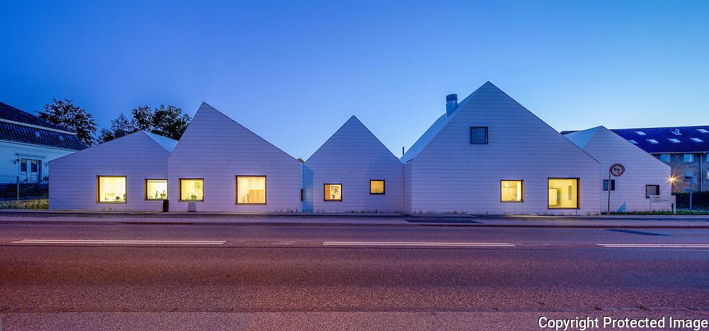 Cancer Centre (Livsrum) Naestved, Denmark. Architect: Effekt.  Engineer: Søren Jensen