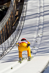 06.02.2011, Heini Klopfer Skiflugschanze, Oberstdorf, GER, FIS World Cup, Ski Jumping, Teamwettbewerb, Probedurchgang, im Bild Kalle Keituri (FIN) , during ski jump at the ski jumping world cup Trail round in Oberstdorf, Germany on 06/02/2011, EXPA Pictures © 2011, PhotoCredit: EXPA/ P. Rinderer