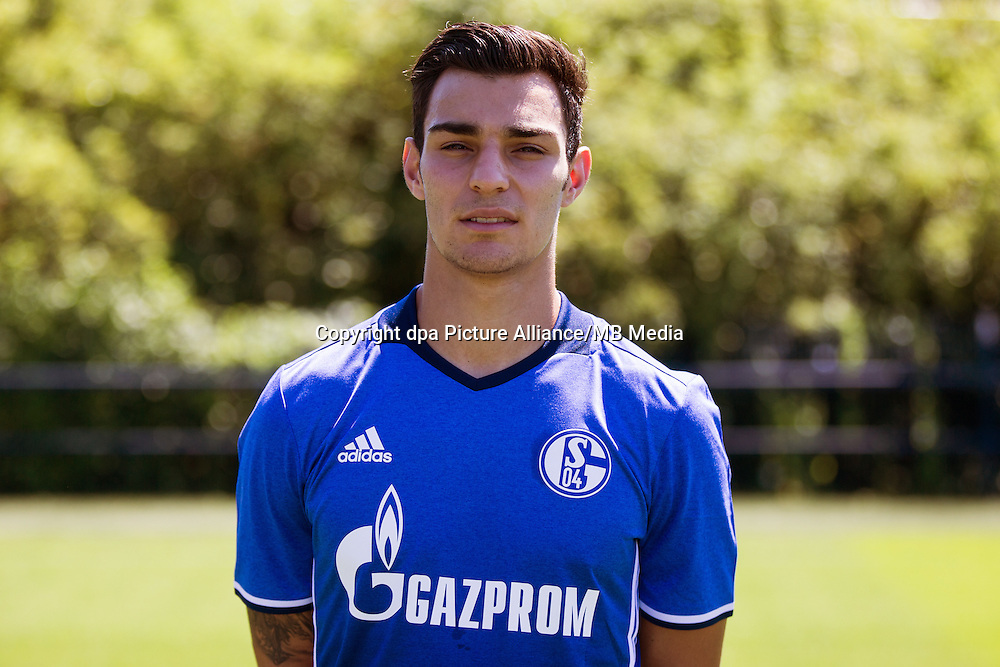 German Bundesliga - Season 2016/17 - Photocall FC Schalke 04 on 20 July 2016 in Gelsenkirchen, Germany: | usage worldwide