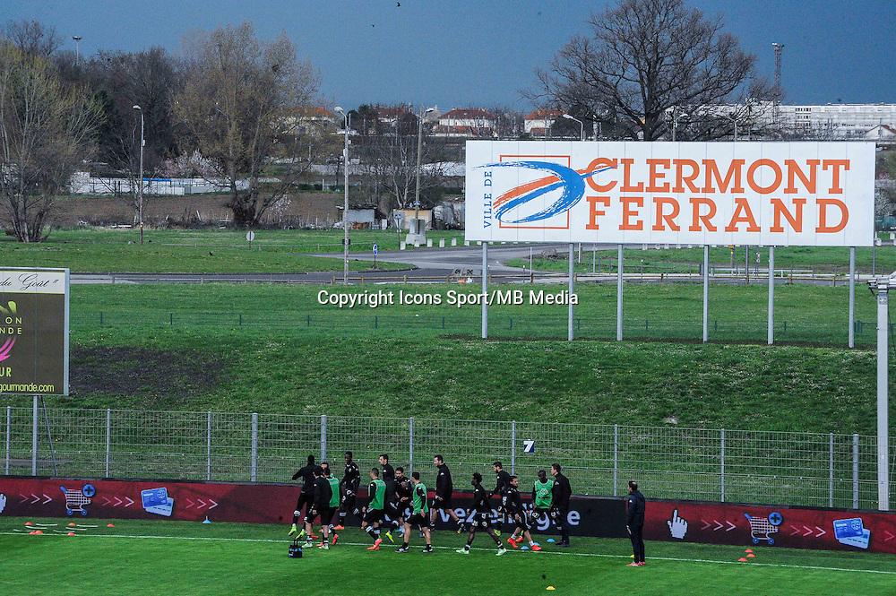ILLUSTRATION Satde Clermont - 03.04.2015 - Clermont / Angers - 30e journee Ligue 2<br /> Photo : Jean Paul Thomas / Icon Sport