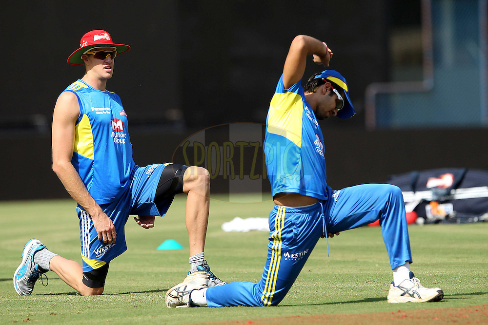 Morne Morkel during the Delhi Daredevils practice session held at the MA Chidambaram Stadium in Chennai, Tamil Nadu, India on the 11th May 2011..Photo by Ron Gaunt/BCCI/SPORTZPICS