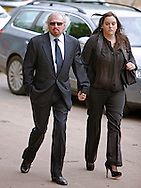 "BARRY GIBB AND DAUGHTER.ROBIN GIBB'S FUNERAL.Robin who died after a lon-running battle with cancer aged 62, was buried at St. mary's Church , Thame, Oxfordshire..Brother Barry Gibb,65, the last surviving member of the Bee Gees was joined by family members for the funeral service..Celebrity guests who attended the funeral included Peter Andre, Tim Rice, Susan George and Leslie Phillips_08/06/2012.Mandatory Credit Photo: ©NEWSPIX INTERNATIONAL..**ALL FEES PAYABLE TO: ""NEWSPIX INTERNATIONAL""**..IMMEDIATE CONFIRMATION OF USAGE REQUIRED:.Newspix International, 31 Chinnery Hill, Bishop's Stortford, ENGLAND CM23 3PS.Tel:+441279 324672  ; Fax: +441279656877.Mobile:  07775681153.e-mail: info@newspixinternational.co.uk"